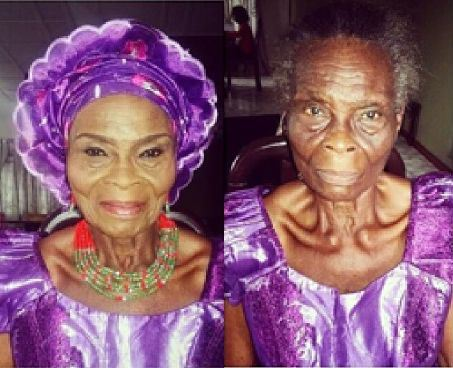 Photos) Amazing Makeup transformation – pretty awesome! – AdeLove com
