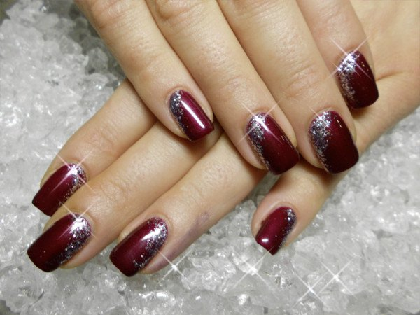 Why Wine Red Nail Manicure Is Attractive Fashionable Photos