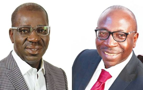 Image result for Edo Election Update: APC And PDP Candidates In Tight Race