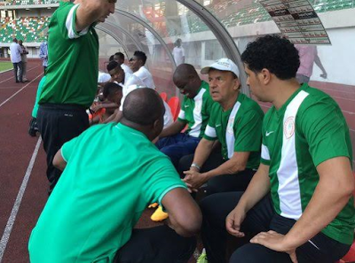 Image result for Super Eagles coach, Rohr stranded in Germany, players ordered to fly economy class