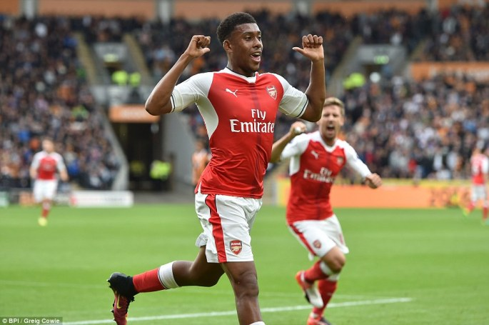 Image result for Alex Iwobi impresses me - Sir Alex Ferguson says