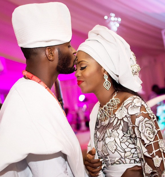 Tiwa Savage Wedding anniversary2