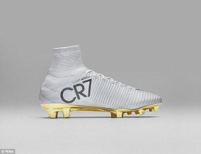 Nike celebrate Cristiano Ronaldo's Ballon d'Or win with gold football boots