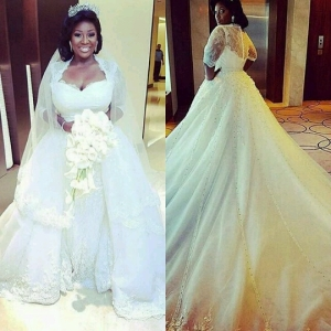 The 10 Best Celebrity Wedding Dress Of All Times AdeLove
