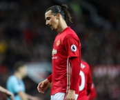 MANCHESTER, ENGLAND - OCTOBER 29: Zlatan Ibrahimovic of Manchester United  during the Premier League match between Manchester United and Burnley at Old Trafford on October 29, 2016 in Manchester, England. (Photo by Mark Robinson/Getty Images)