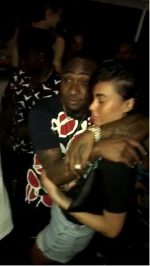 Davido Spotted Having Fun With Akon At A Club In Gabon -7759